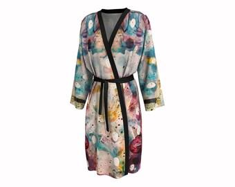 Flower Fields • Peignoir Robe