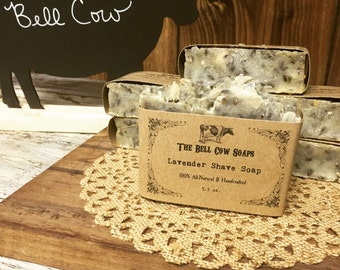 All-Natural Lavender Shave Soap, shave soap, lavender soap, shaving soap, handmade soap, natural soap, all natural soap