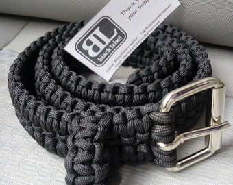 Paracord Belt - Men's - Handmade - 550 paracord. Gift. Holiday. Edc. Mens. Belt.