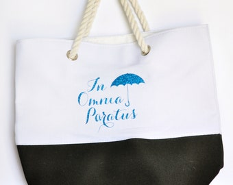 In Omnia Paratus Gilmore Girls Tote Bag