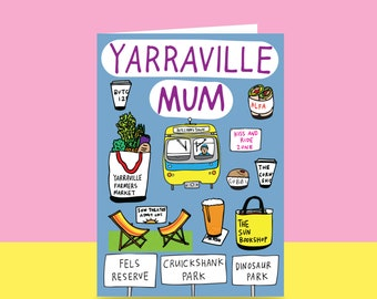 Mother's Day Card  - Yarraville Mum