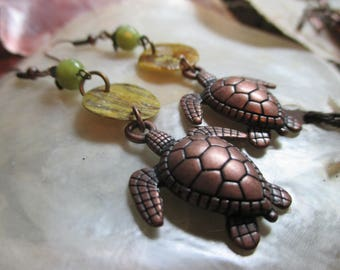 Olive-Green Copper Turtles