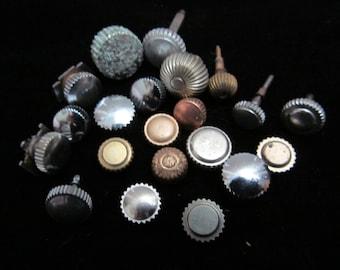 Steampunk Vintage Antique Watch pocket Watch parts crowns RJ 77