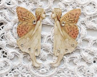 Reneabouquets Sweet Garden Butterfly Fairy Premium Paper Die Cut Set