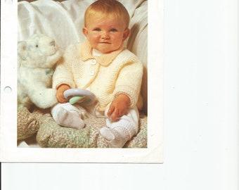 PDF Knitting Patterns,  Baby Knitting Pattern, Knitting Patterns, Digital download knit Pattern, Baby Jacket Knitting Pattern
