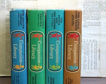 Set of Four Companion Library Books...Two Classics In Each Book