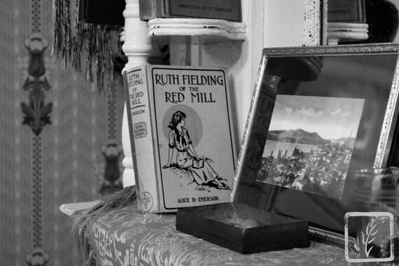 """""""Bookshelf,"""" Tenement Museum, Manhattan, New York, 2015."""