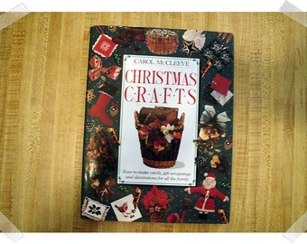 Christmas Crafts- Hardcover Book*