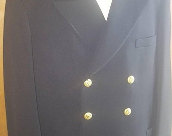 FREE SHIP BONUS Vintage 50s jacob reed son's uniform mens vintage wool Suit Jacket blazer size 40  military