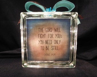 Exodus 14:14 Bible Verse Light