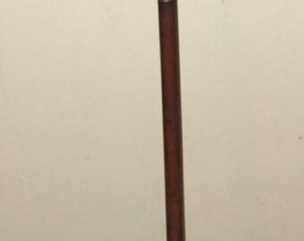 SALE ANTIQUE SHOTGUN Cleaning Rod Three Part Wooden and Brass Gun Rifle Cleaner Victorian