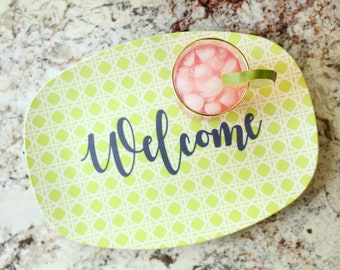 Personalized Melamine Platter Tray  ~ Customize it!