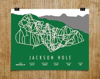 more colors jackson hole ski trail map