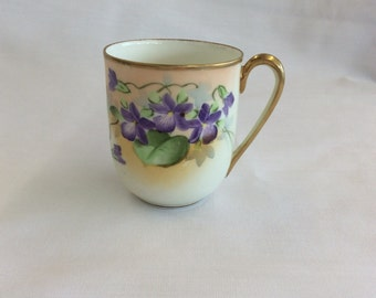 Antique Handpainted Nippon Cup