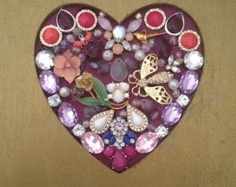 Jewelry Heart Collage