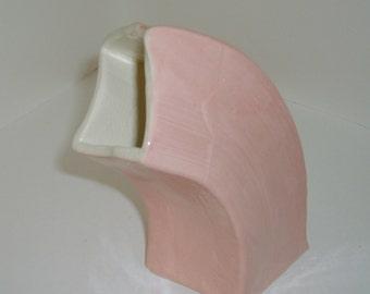 Pink Swoop Vase