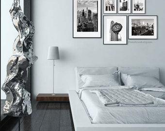 New York Decor set of 6 prints/Travel photography/New York photography/large wall art/bedroom gallery wall/New York prints/office decor