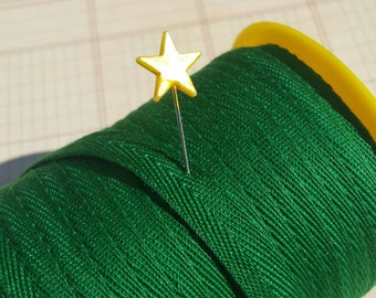 "GREEN Twill Tape Trim - Sewing Bunting Shipping Packaging - 3/8"" Wide - 10 Yards"