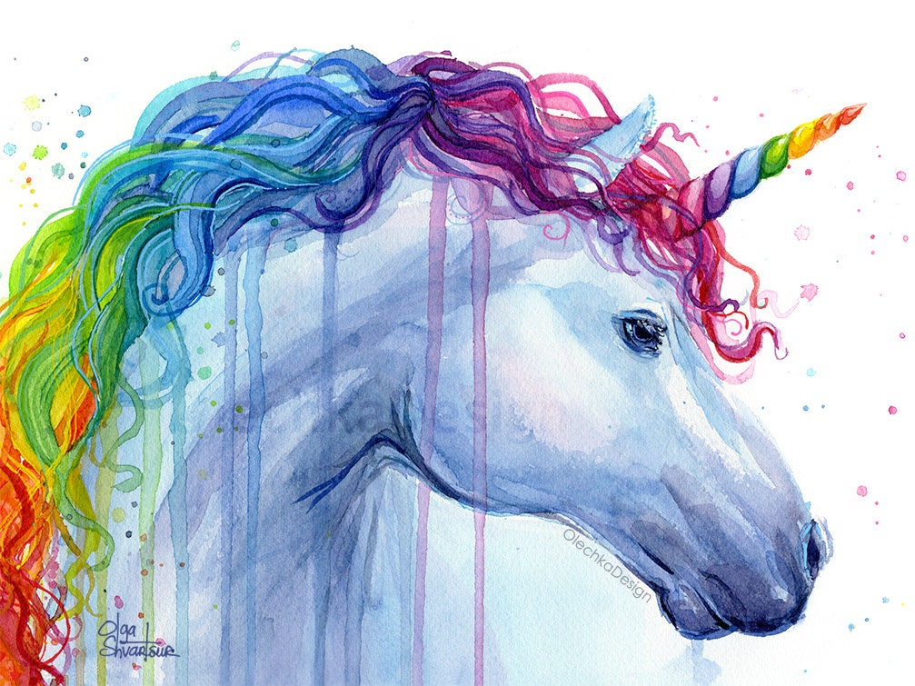 Crazy image within printable unicorns
