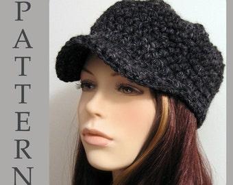 The Christie Cap - Crochet Hat Pattern PDF