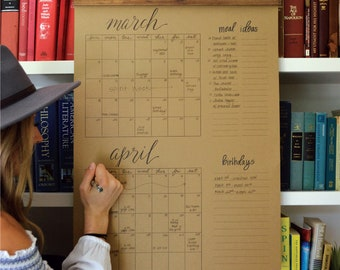 Big Write-In Calendar (Pre-Order)