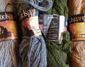 100% Norwegian wool yarn.