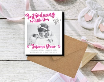 Birth Announcement Photo Magnets > Envelopes Included > FREE SHIPPING