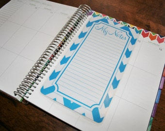 Dashboard (Size B), Coil Clip In, Laminated, Double Sided  / Erin Condren Life Planner, Limelife, Plum Paper (B01)