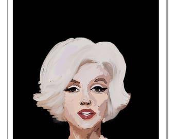 Marilyn Monroe-Pop Art Print