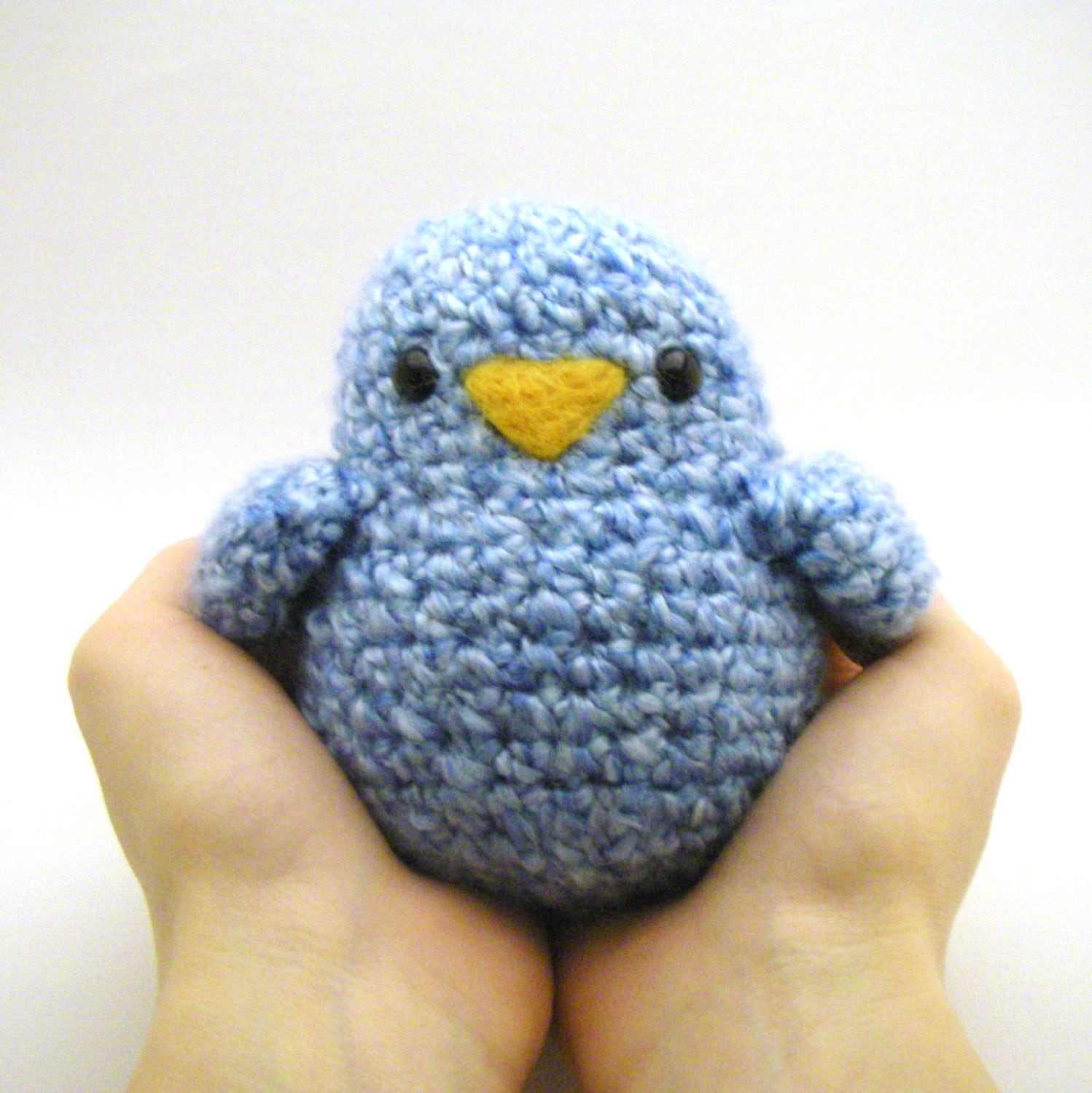 Crochet Toy Pattern Fat Birdy