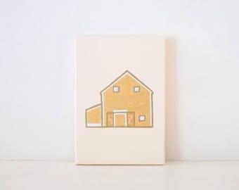 CUSTOM HOME PORTRAIT - Custom Wedding Gift - Custom House Portrait - Custom Housewarming Gift - Personalized House Painting - Shower Gift