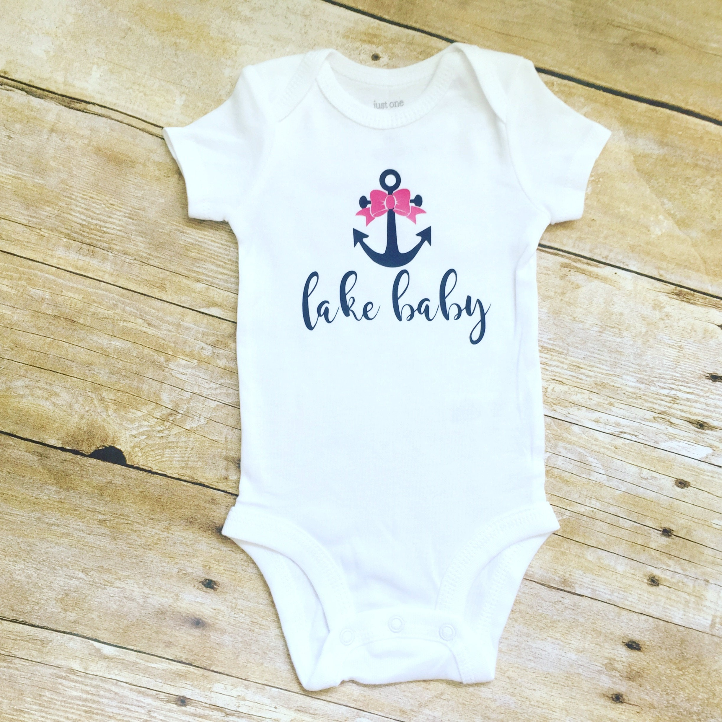 Anchor Shirt Anchor Baby Shirt Lake Baby Shirt Baby Girl