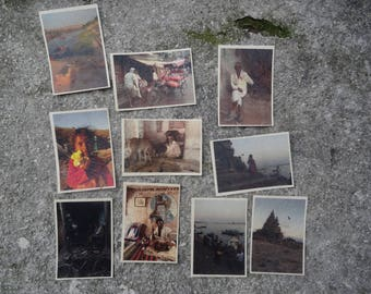 Set of 5 postcards INDIA