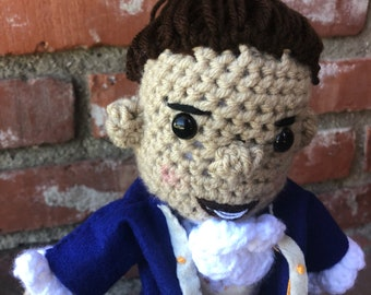 Crochet Hamilton doll