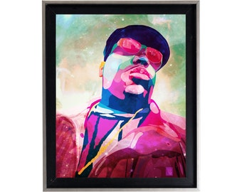 Biggie Smalls 'Skys The Limit' Poster or Art Print