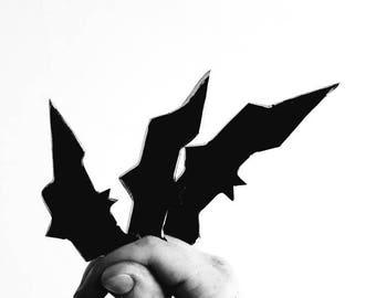 Hand forged batarangs