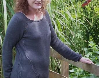 Knitting pattern Pullover Side Kicks