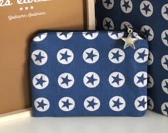 A small blue stars Pocket