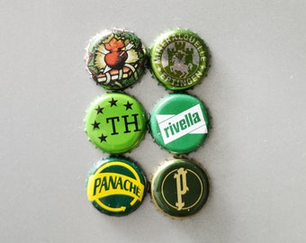 Green Caps Magnets