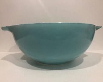 Pyrex JAJ Turquoise Cinderella Bowl