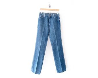 50% of Proceeds go to Planned Parenthood! Vintage Wrangler Jeans, Slim Fit Boyfriend Jeans, 60s/70s Denim, 30 Waist, Creased Jeans, 30 x 34