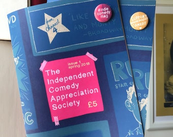 Issue #1 - Independent Comedy Appreciation Society magazine