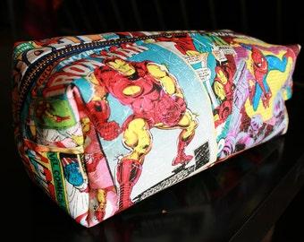 Nerdy Toiletry Bag - Discounted Set of 5- FREE shipping- Bridesmaid, Groomsman, Graduation Gift - Customizable