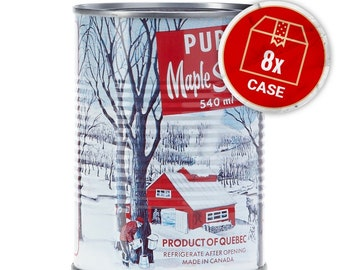 Canadian Maple Syrup 540ml x 8