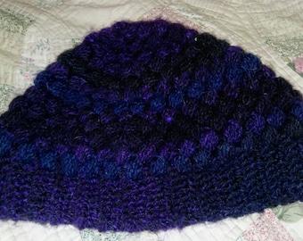 Handmade crochet winter hat