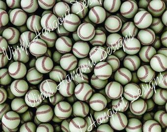 Pattern Vinyl, Baseball Background, HTV, Adhesive Outdoor Vinyl, Printed Vinyl, Heat Transfer Vinyl, Iron On Vinyl, Baseball, Sports, Ball