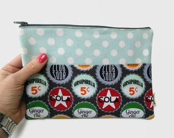 Fabric iPad Mini Case / Bottle top iPad mini Cover / Tablet case / ipad mini sleeve