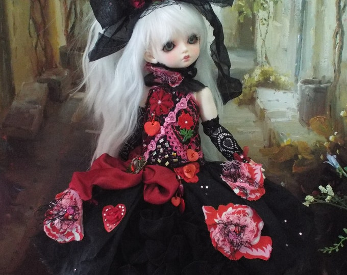 Scarlet for MSD BJD Dolls such as Kaye Wiggs MSD, Dollstown 7 yrs, Rosenlied Holiday, Volks