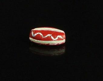 V 079-   An antique Venetian tabular bead
