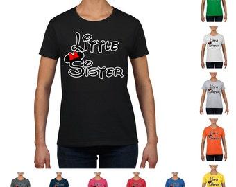 Minnie Little Sister Women's Fashion T-shirt